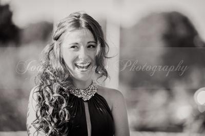 Louise Prom B&W-36